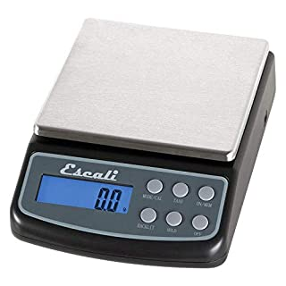 Escali L600 L-Series High Precision Professional Lab, Six Units of Measurements Weight Scale, 600 Gram, Black