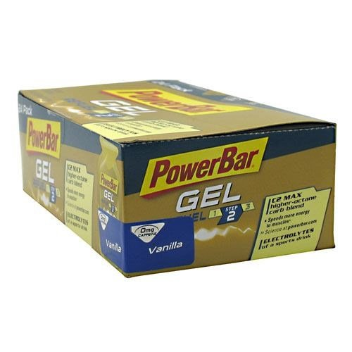 PowerBar PowerBar Gel, Vanilla, 24 ea by Powerbar