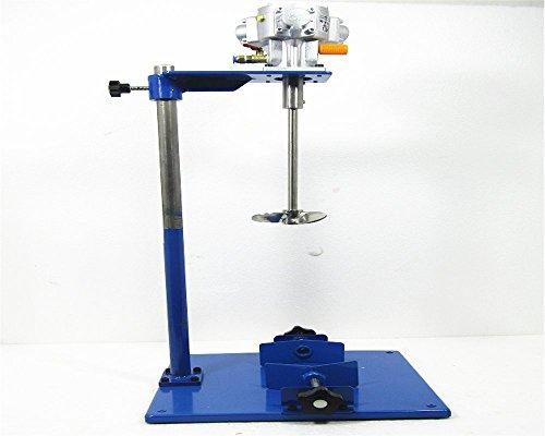 EA230 Pneumatic Air Motor ink mixer Ink Glue Agitator Manual Lifting Pneumatic Paint Mixer Blender Stirrer for Dye Viscous Lquid Chemicals 180L/min 0.1HP - 0.1 Hp Motor