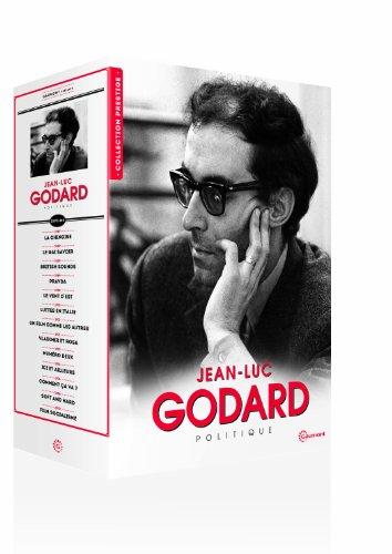Jean-Luc Godard Collection (13 Films) - 8-DVD Box Set ( La chinoise / Le gai savoir / British Sounds / Pravda / Le vent d'est / Lotte in Italia / Un film [ NON-USA FORMAT, PAL, Reg.2 Import - France ] by Gaumont