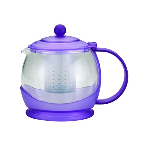 glass and plastic teapot - 8