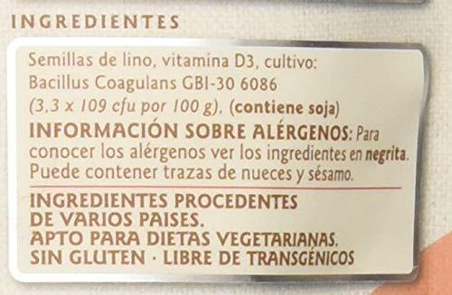 LINWOODS Linaza, Probiótico y Vitamina D, 200 g