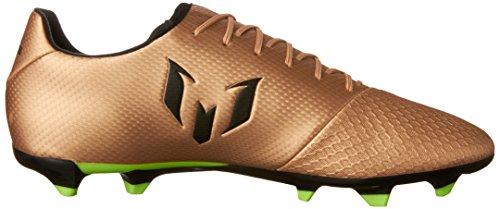 Adidas Mens Messi 16,3 Fast Underlag Klossene Fotballsko Kobber Metallisk / Svart / Solar Grønn