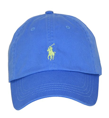 Polo Ralph Lauren Men/Women Cap Horse Logo/Adjustable, Cyan - Women Ralph Polo Lauren Sport