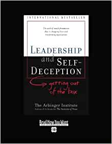 leadership and self deception book report Self-deception in leadership from a developmental perspective  we also aim to explore the nature of self-deception in leadership and  the fsa report states.