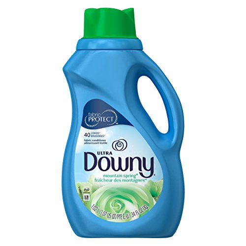 Downy Ultra Concentrated Fabric Softener, Mountain Spring, 34 oz - Downy Fabric Softener Liquid