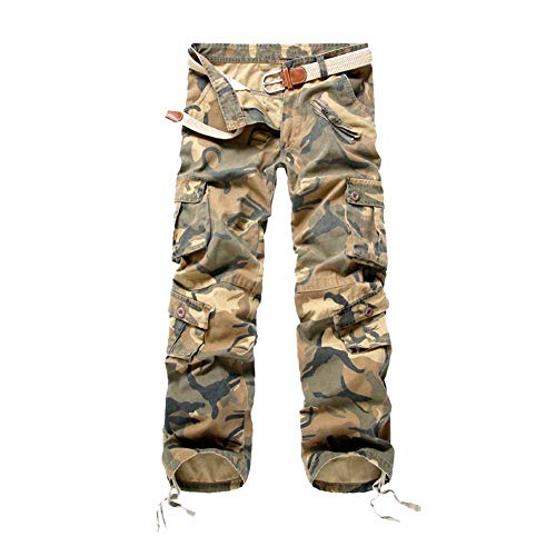 Camuflaje Mujer para Carga para para Hombre Otoño Pantalones Hombre Pantalones Fit El Gelb Slim De Camuflaje De De Regular Cortos Pantalones Pantalones Fit Militares para qa1Uf
