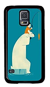 Dinner for Two Custom Back Phone Case for Samsung Galaxy S5 PC Material Black -1210320