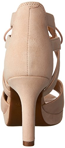 CLARKS Womens Mayra Ellie Leather Open Toe Casual Ankle Strap Sandals Nude Suede cheap sale reliable cheap real finishline sale many kinds of cheap fake pWHQNvfVI