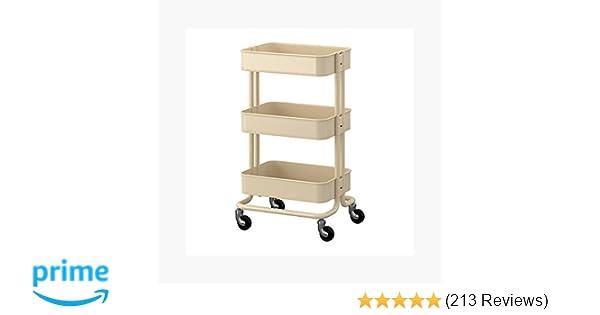 475dd2f547 Amazon.com  Raskog Home Kitchen Bedroom Storage Utility Cart