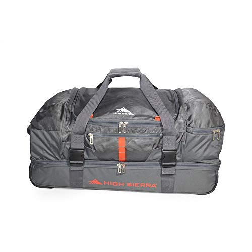 "High Sierra Evolution 30"" Drop-Bottom Wheeled Travel Duffel"