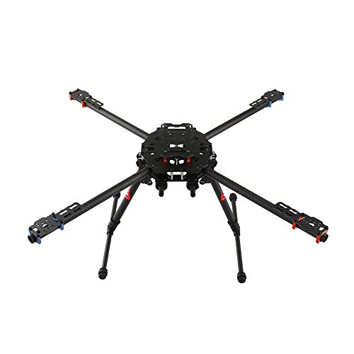 Cheap Tarot 650 Carbon TL65B01 Fiber 4 Axis Aircraft Fully Folding FPV Drone UAV Quadcopter Frame Kit for DIY Aircraft Helicopter