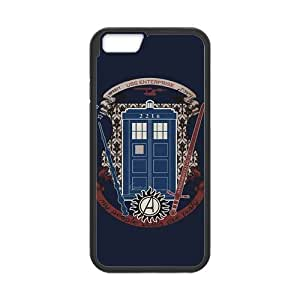 iPhone 6 Protective Case - Tardis 221B Door Hardshell Cell Phone Cover Case for New iPhone 6