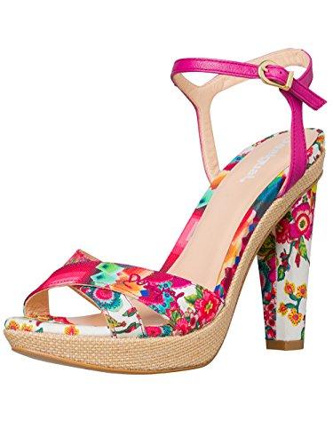 DESIGUAL® Femme Designer High Heels Talons Chaussures - SEVILLA - Nouvelle Collection -