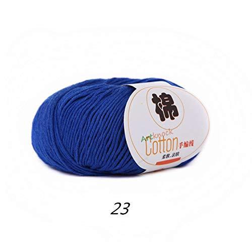 Warm Cotton Yarn | Baby Wool Yarn for Knitting | Children Hand Knitted Yarn | Knit Sweater Crochet Yarn (50g/Ball) ()