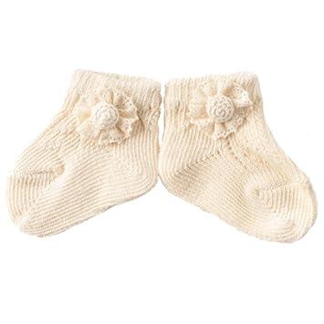 c19820270995a Amorosa mamma 天使の糸 collection レースフラワーのオーガニックソックス AG-244
