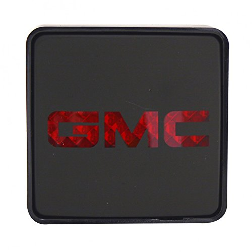 (Lighted Trailer Hitch Covers, Tow Cover Hitch With Gmc Logo Fit 2 Inch Receiver)