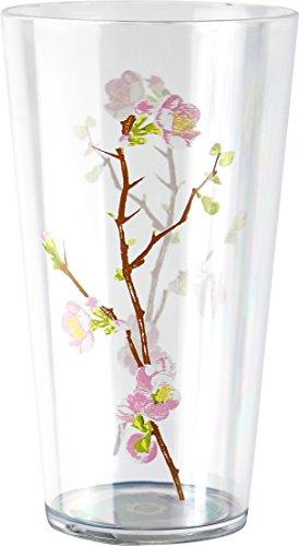 Corelle Coordinates Cherry Blossom 19-Ounce Acrylic Glass, Set of 6