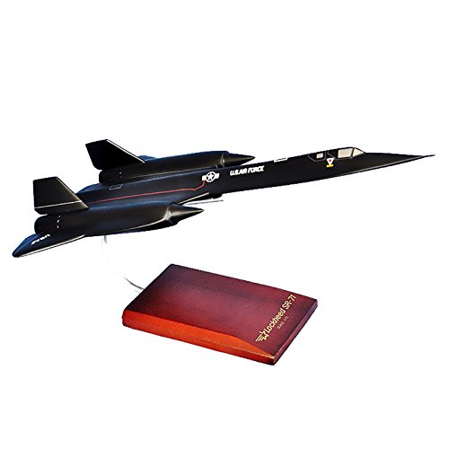 Mastercraft Collection MCSR71BAW SR-71A Blackbird Wood Desktop Model -