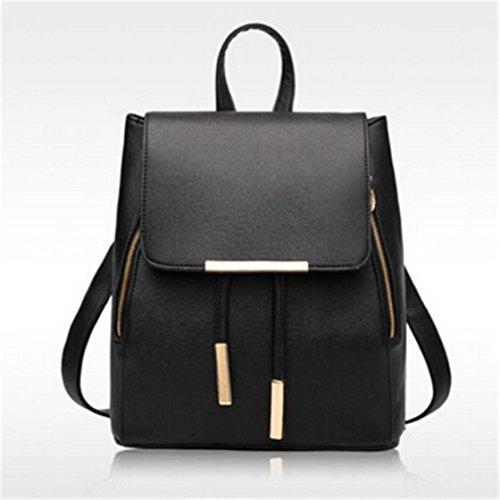 TraveT Ladies Leather Backpack Handbag