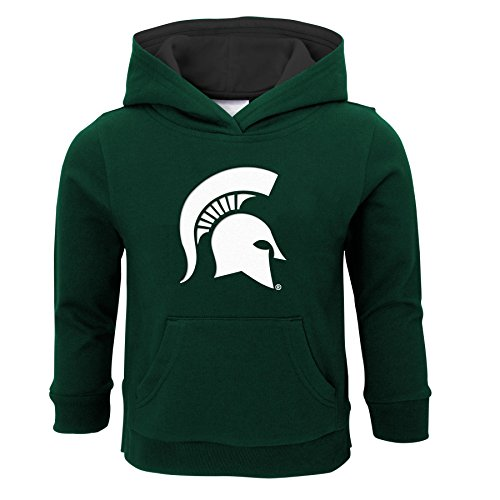 - NCAA Michigan State Spartans Infant Prime Fleece Hoodie, 18 Months, Hunter Green