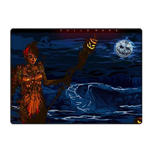 stahhn Door Mat Halloween Guild Wars Non-Slip Stain Fade Resistant Indoor Doormat 60x39 in -
