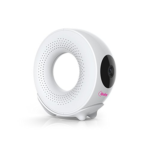 IBaby M2 Pro 720p Wi-Fi Digital Video Baby Monitor, Night Vision, Two-way Audio, White
