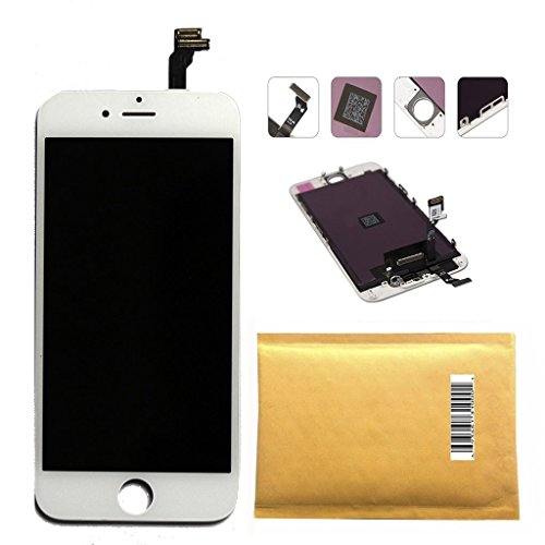 CLWHJ-replacement LCD Display & Touch Screen Digitizer Assembly for 4.7' Iphone 6 (White) By Hong Hao
