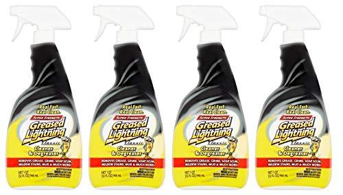 Greased Lightning Super Strength Multi-Purpose Cleaner & Degreaser, 32 fl oz (Pack of 4)