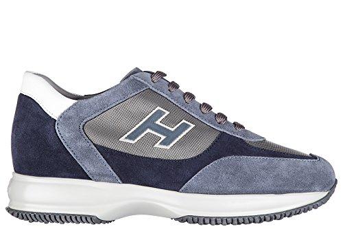 Hogan zapatos zapatillas de deporte hombres en ante nuevo new interactive h floc