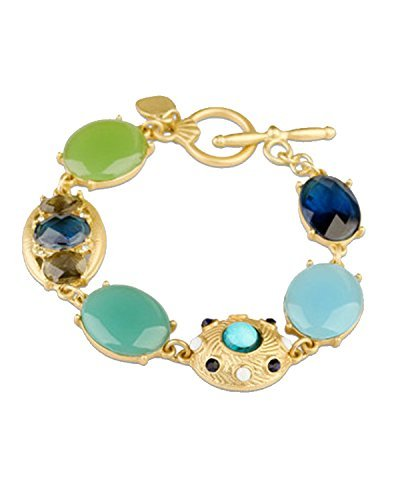 Young & Forever Women's Navratri Diwali Special Persian Treasure Bracelet Gold Toned by Young & Forever
