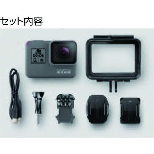 GoPro HERO5 Black - Cámara de acción digital a prueba de agua para viajar con pantalla táctil 4K HD Video 12MP Fotos