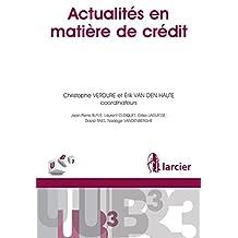 Actualités en matière de crédit (UB3) (French Edition)