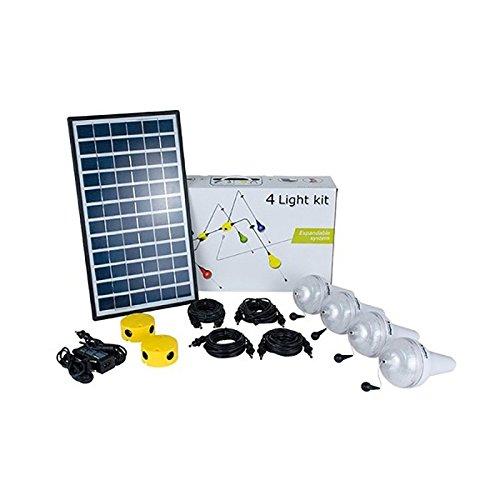 Kit solar-Beleuchtung 4Ulitium 200SUNDAYA