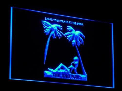 ADV PRO j007-b OPEN Tiki Sex Bar Leave Pants Neon Light Signs by AdvPro Sign