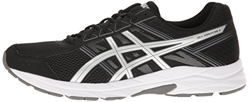 ASICS Men's Gel-Contend 4 Running Shoe, Black/Silver/Carbon, 7 M US by ASICS (Image #5)
