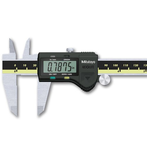 Mitutoyo 500-196-30 Advanced Onsite Sensor (AOS) Absolute Scale Digital Caliper, 0 to 6