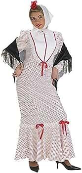Disfraz chulapa adulto deluxe: Amazon.es: Ropa y accesorios