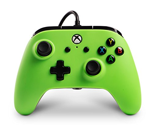 PowerA Enhanced Wired Controller for Xbox One - Green 1