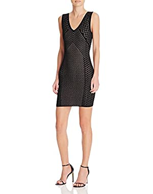 Guess Delilah Pointelle Dress