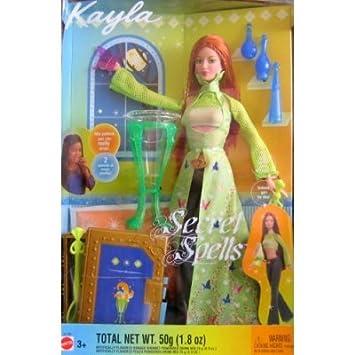 Barbie Kayla Secret Spells Wiccan Doll (2003) by Mattel