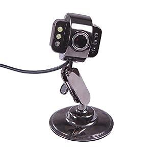 Amazon.com: HDE USB Webcam with LED Lights - Metal Finish ...
