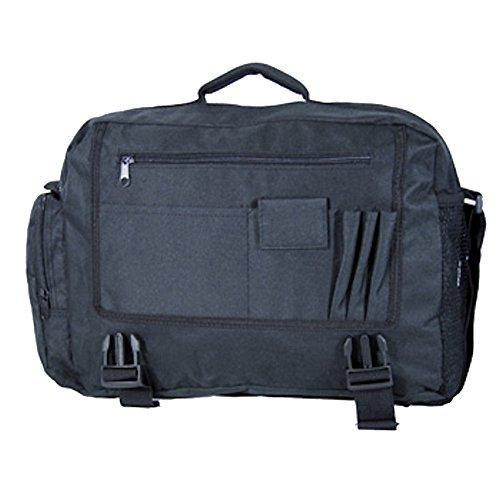 Negros ligero equipaje de mano de trabajo de viaje bolsa bolsa de hombro Negro Jazzi-2563-Black large Jazzi-2563-Black