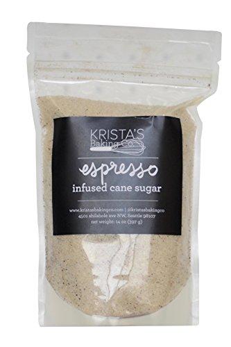 Krista's Baking Co. Infused Organic Cane Sugar - Espresso - ()