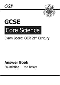 ocr 21st century science core coursework