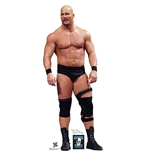 Stone Cold - WWE - Advanced Graphics Life Size Cardboard Standup (Wwe Royal Rumble Winners)