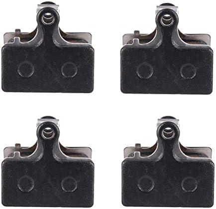Sharplace 樹脂製 ディスクブレーキパッド 自転車 バイク用 スペアパーツ 無騒音 軽量 長持ち 使いやすい 4ペア入り