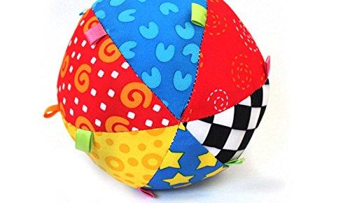 Edealing 1PCS Colorful boule de Bell Jouets pour enfants bébé main Saisir apprentissage boule Tissu Musique Sense Xinghaoda Co Ltd