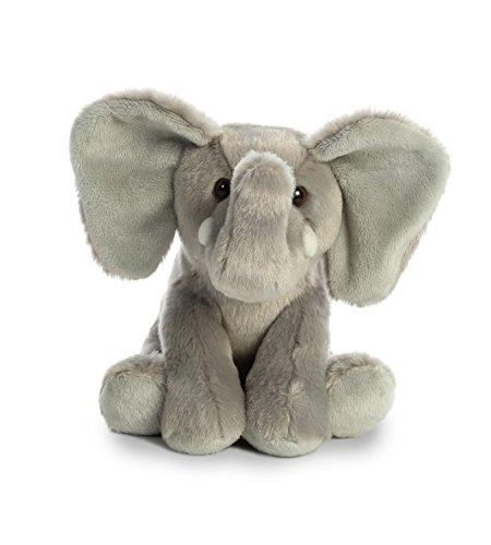 Aurora World Elephant Destination Nation, Gray, (Elephant Bear)