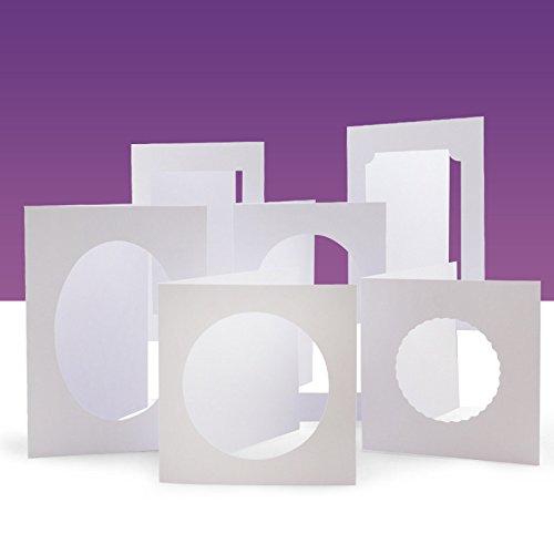 Aperture Cards - Hunkydory Crafts Deco-Large Aperture 24 Card Blanks & Envelopes